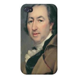 Portrait of Nikolai Ivanovich Novikov iPhone 4/4S Cases