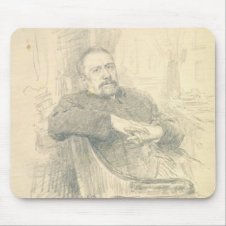 Portrait of Nikolaj Leskov , 1889 Mouse Pad