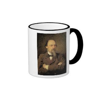 Portrait of Nikolay Alekseyevich Nekrasov, 1877 Mugs