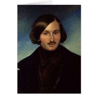 Portrait of Nikolay Gogol, 1841 Card