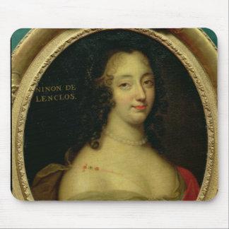 Portrait of Ninon de Lenclos Mouse Pad