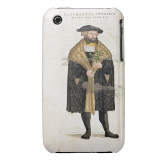Portrait of of the author age 41, from 'De Histori iPhone 3 Cover