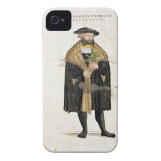 Portrait of of the author age 41, from 'De Histori iPhone 4 Case-Mate Cases