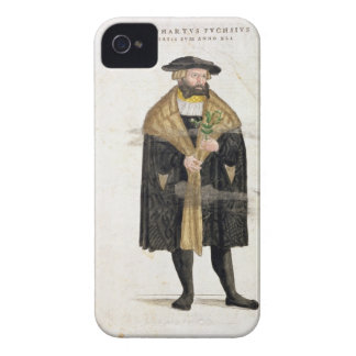 Portrait of of the author age 41, from 'De Histori iPhone 4 Covers