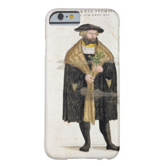 Portrait of of the author age 41, from 'De Histori iPhone 6 Case