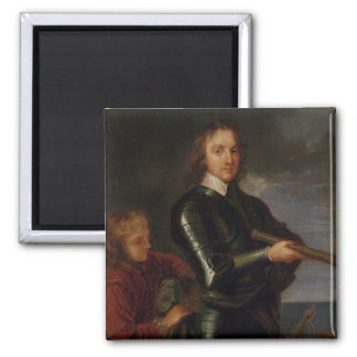 Portrait of Oliver Cromwell Magnet