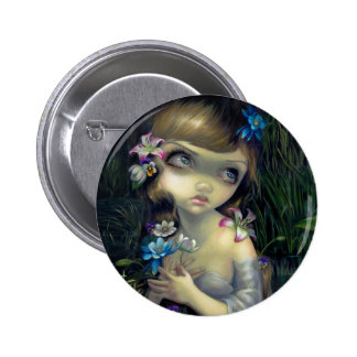 """Portrait of Ophelia"" Button"