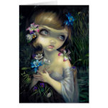 """Portrait of Ophelia"" Greeting Card"