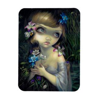 """Portrait of Ophelia"" Magnet"