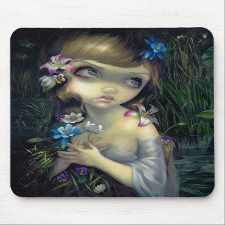 """Portrait of Ophelia"" Mousepad"