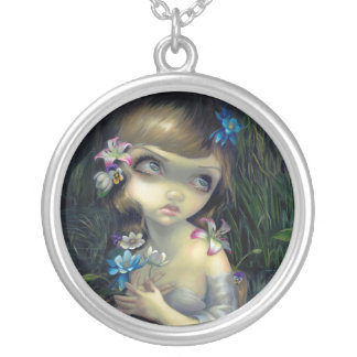Portrait of Ophelia NECKLACE gothic fantasy
