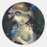 """""""Portrait of Ophelia"""" Sticker"""