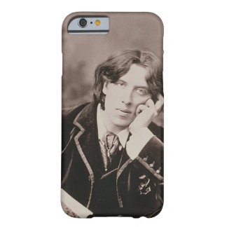 Portrait of Oscar Wilde (1854-1900), 1882 (b/w pho Barely There iPhone 6 Case