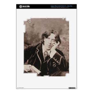 Portrait of Oscar Wilde (1854-1900), 1882 (b/w pho Decal For iPad 3