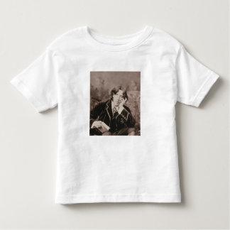 Portrait of Oscar Wilde (1854-1900), 1882 (b/w pho Toddler T-shirt