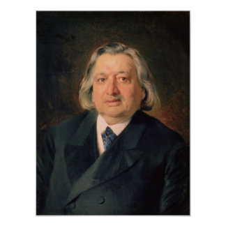 Portrait of Ossip Petrov , 1870 Poster