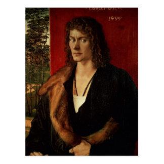 Portrait of Oswolt Krel, 1499 Postcard