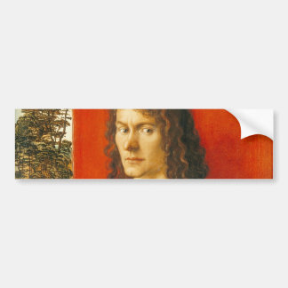 Portrait of Oswolt Krel by Albrecht Durer Bumper Sticker