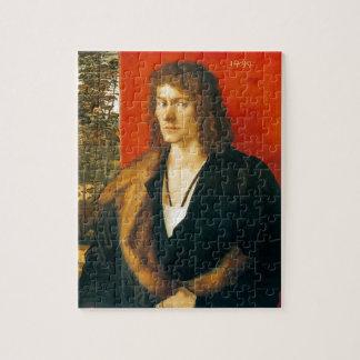 Portrait of Oswolt Krel by Albrecht Durer Puzzles