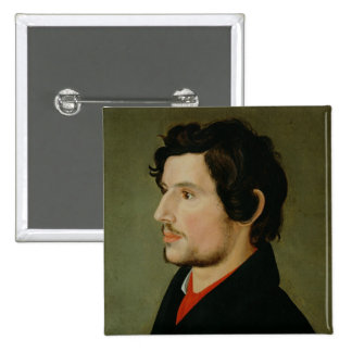 Portrait of Otto Sigismund Runge Pinback Button