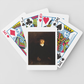 Portrait of Otto Von Bismarck (1815-98) (oil on pa Bicycle Playing Cards