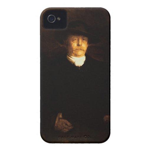 Portrait of Otto Von Bismarck (1815-98) (oil on pa iPhone 4 Cases