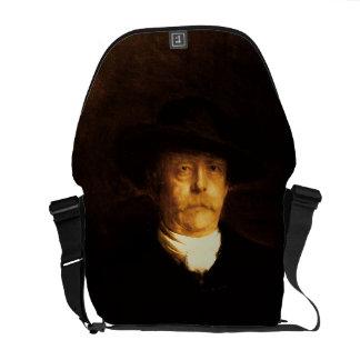 Portrait of Otto Von Bismarck (1815-98) (oil on pa Courier Bag