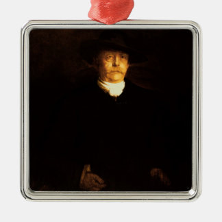 Portrait of Otto Von Bismarck (1815-98) (oil on pa Metal Ornament