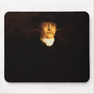 Portrait of Otto Von Bismarck (1815-98) (oil on pa Mouse Pad