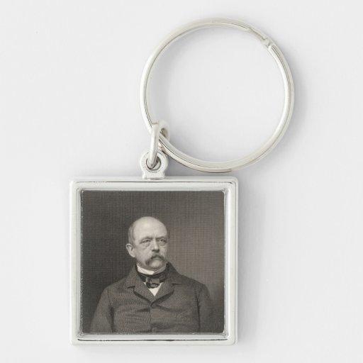 Portrait of Otto von Bismarck Keychain