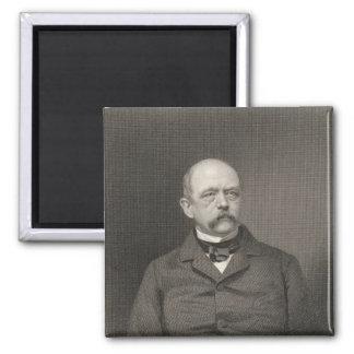 Portrait of Otto von Bismarck Fridge Magnets