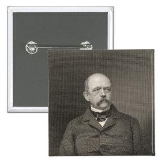 Portrait of Otto von Bismarck Pinback Button