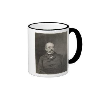Portrait of Otto von Bismarck Ringer Mug