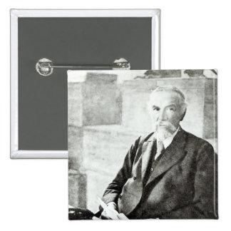 Portrait of P. L. Sclater, Pinback Button