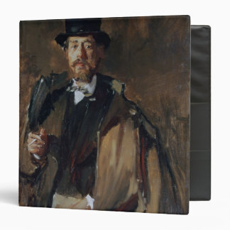 Portrait of Pal Szinyei Merse 3 Ring Binder