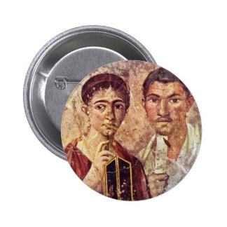 Portrait Of Paquius Proculus And His Wife By Meist Button