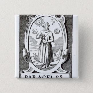 Portrait of Paracelsus Button