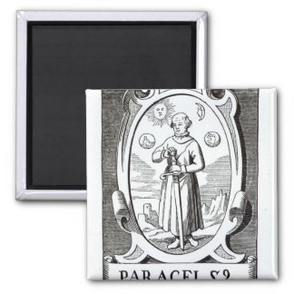 Portrait of Paracelsus Magnet