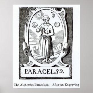 Portrait of Paracelsus Poster