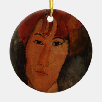 Portrait of Pardy, c.1915 (oil on canvas) Ceramic Ornament