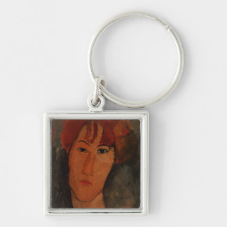 Portrait of Pardy, c.1915 (oil on canvas) Keychain