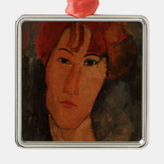 Portrait of Pardy, c.1915 (oil on canvas) Metal Ornament
