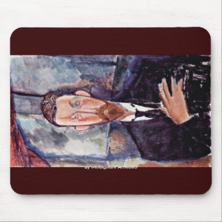 Portrait Of Paul Alexander By Modigliani Amedeo Mouse Pad