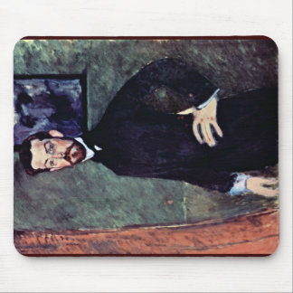 Portrait Of Paul Alexander By Modigliani Amedeo Mouse Pads