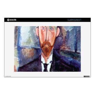 "Portrait of Paul Alexanders by Amedeo Modigliani 13"" Laptop Skins"
