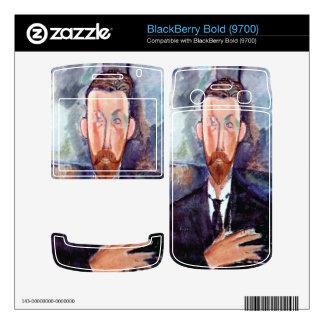 Portrait of Paul Alexanders by Amedeo Modigliani BlackBerry Skins