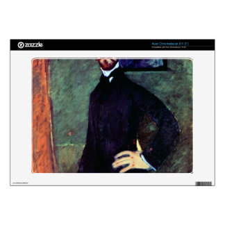 Portrait of Paul Alexanders by Modigliani Skins For Acer Chromebook