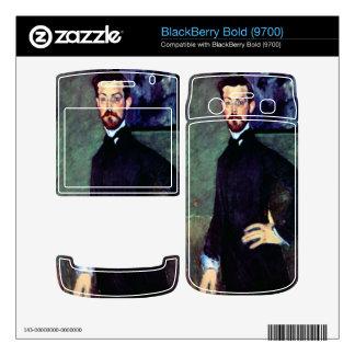Portrait of Paul Alexanders by Modigliani BlackBerry Bold Decals