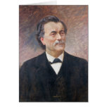 Portrait of Paul Bert Greeting Card