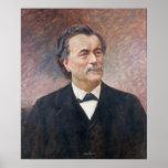 Portrait of Paul Bert Poster